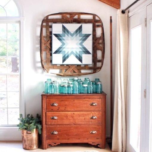 Winter Star Barn Quilt Pattern