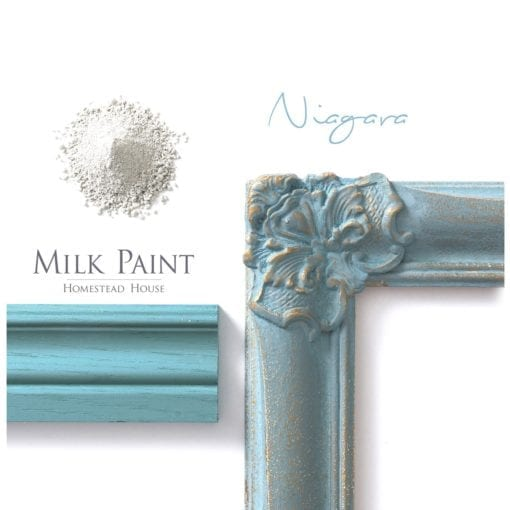 niagra green milk paint