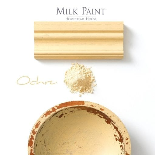 ochre milk paint
