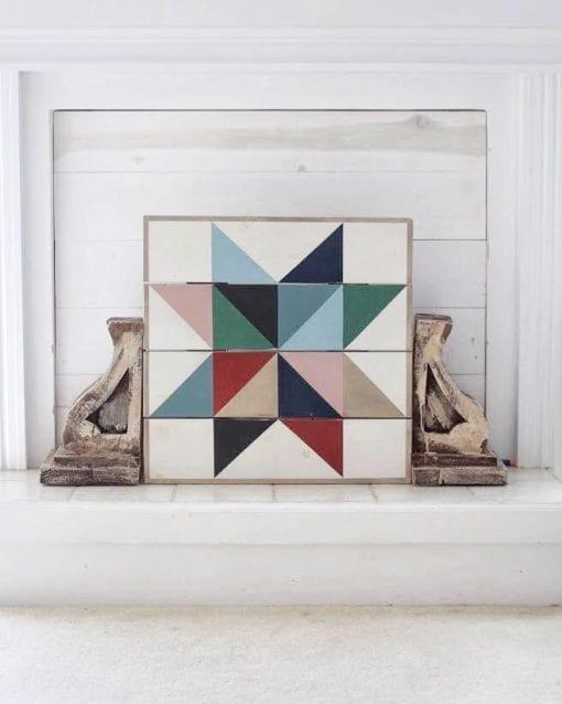 Muted Mosaic Star Pattern Book