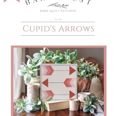 Cupid's Arrows Barn Quilt Pattern