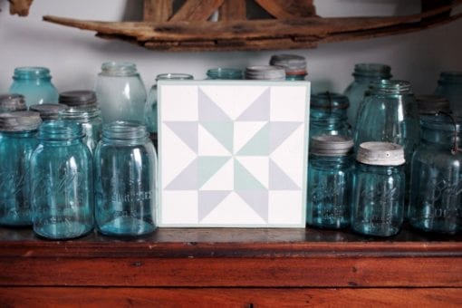 Snowflake Barn Quilt Pattern