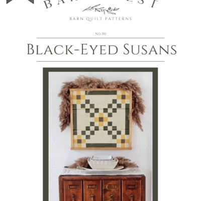 Black Eyed Susans Barn Quilt