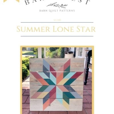 Summer Lone Star Pattern Book