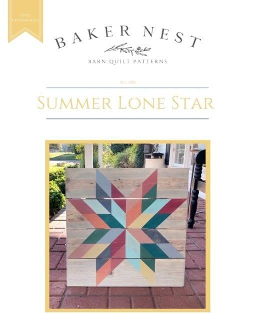 Summer Lone Star Pattern Book