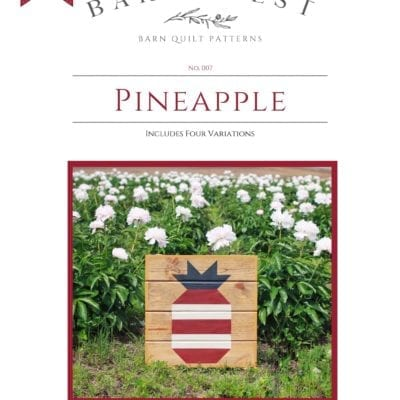 Pinapple Barn Quilt Pattern Book