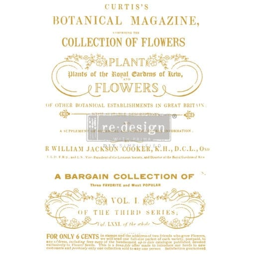 flower collector transfer