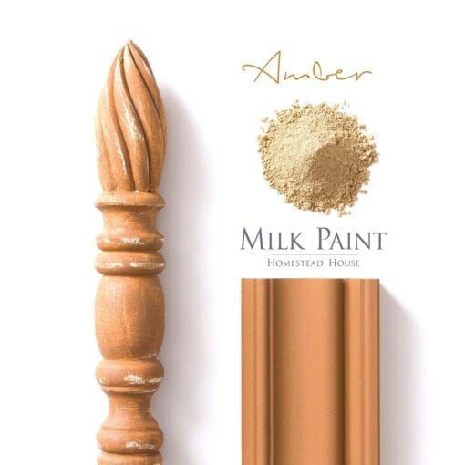 Amber Milk Paint Homestead House