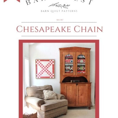 Chesapeake Chain Barn Quilt Pattern Book