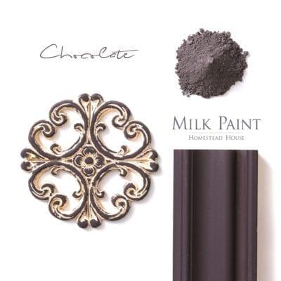 chocolate milk paint