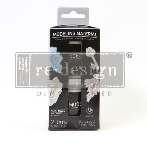 modeling material jar set of 2