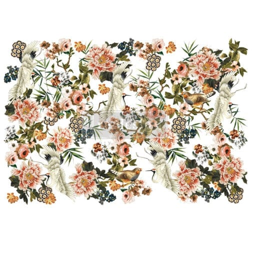 Elegance & Flowers Transfer
