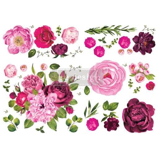 Lush Floral 1 Transfer