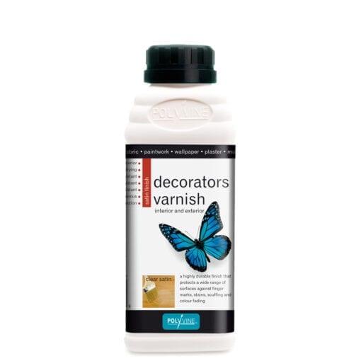 polyvine decorators varnish satin finish