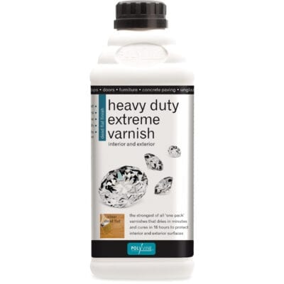 polyvine heavy duty extreme varnish dead flat