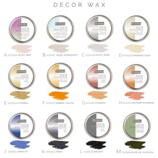 decor wax display